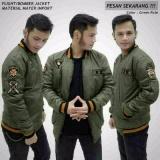 Toko Jaket Bomber Pria X U A Hijau Army Terlengkap Jawa Barat