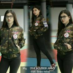 Toko Jaket Bomber Wanita Bomber Murah Bomber Army Murah Di Jawa Barat