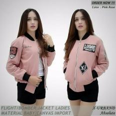 Jaket Bomber Wanita X-Urband Pink Rose