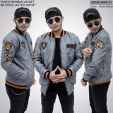 Beli Jaket Bomber Xua Pria Keren Abu Muda Young Grey Seven Keys Dengan Harga Terjangkau