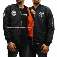 Ulasan Tentang Jaket Boomber Logo Taslanwaterproof Premium Black
