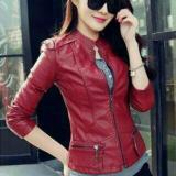 Spesifikasi Jaket Casual Wanita Semi Kulit Style Korea Bagus