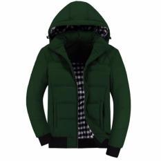 jaket conmembol hijau army polos,jaket polos ,parasut, waterproof, pria, terbaru