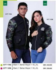Jaket COUPLE Distro...Sweater Loreng Pasangan Tentara-Jaket Murah GF