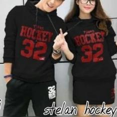 Toko Jaket Couple Hockey Rok Cewe Hitam Online Terpercaya