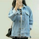 Spesifikasi Jaket Denim Oversize Bioblitz Merk D1Ny Collection