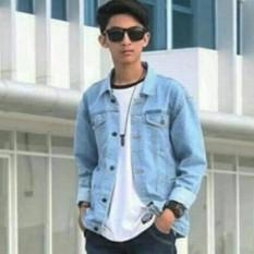 Toko Jaket Denim Pria Jaket Jeans Pria Jaket Jeans Denim Casual Pria Bioblitz Termurah Jawa Barat