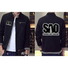 Jaket Distro Pria Anime SAO Sword Art Online Jacket (JK SAO 04)