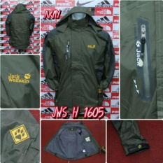 JAKET GUNUNG OUTDOOR IMPORT JACK WOLFSKIN H-1605 WATERPROOF GORE-TEX