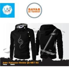 Beli Jaket Harajuku Hoodie Zipper Naruto Anbu Sword Best Seller Black Cicilan