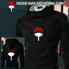 Jual Jaket Harajuku Uchiha Clan Black Best Seller Bang Cloth Ori