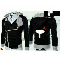 Jaket Harakiri Hoodie Zipper Naruto Sasuke Uchiha Best Seller Black