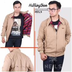 Neils Jaket Harrington Bandung - Harrington Khaki