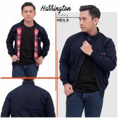 Jaket Harrington / Neils Navy Original Bandung / Kaskus - Aee7ee