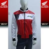 Review Pada Jaket Honda Beatpop Red White