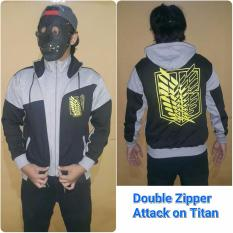 Rp 145.000. Jaket Hoodie Anime Attack On Titan ...