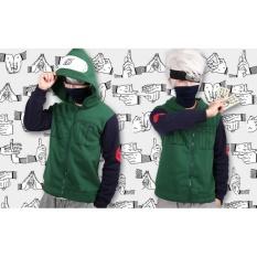 Beli Jaket Hoodie Cosplay Jounin Kakashi Anime Naruto Ja Nrt 67 Best Seller Green Black Digizone