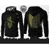 Jual Jaket Hoodie Harajuku Attack On Titan Black Bang Cloth