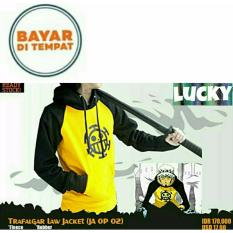Harga Jaket Hoodie Jumper Anime One Piece Trafalgar Law Yellow Black Best Seller Aduuh Baru