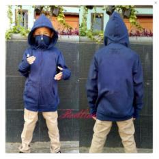 Jual Jaket Hoodie Ninja Anak Polos Navy Jawa Barat