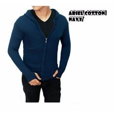 Jual Jaket Hoodie Pria Sweater Hoodie Pria Zipper Jaket Tudung Pria Model Ariel Premium Online Di Jawa Barat