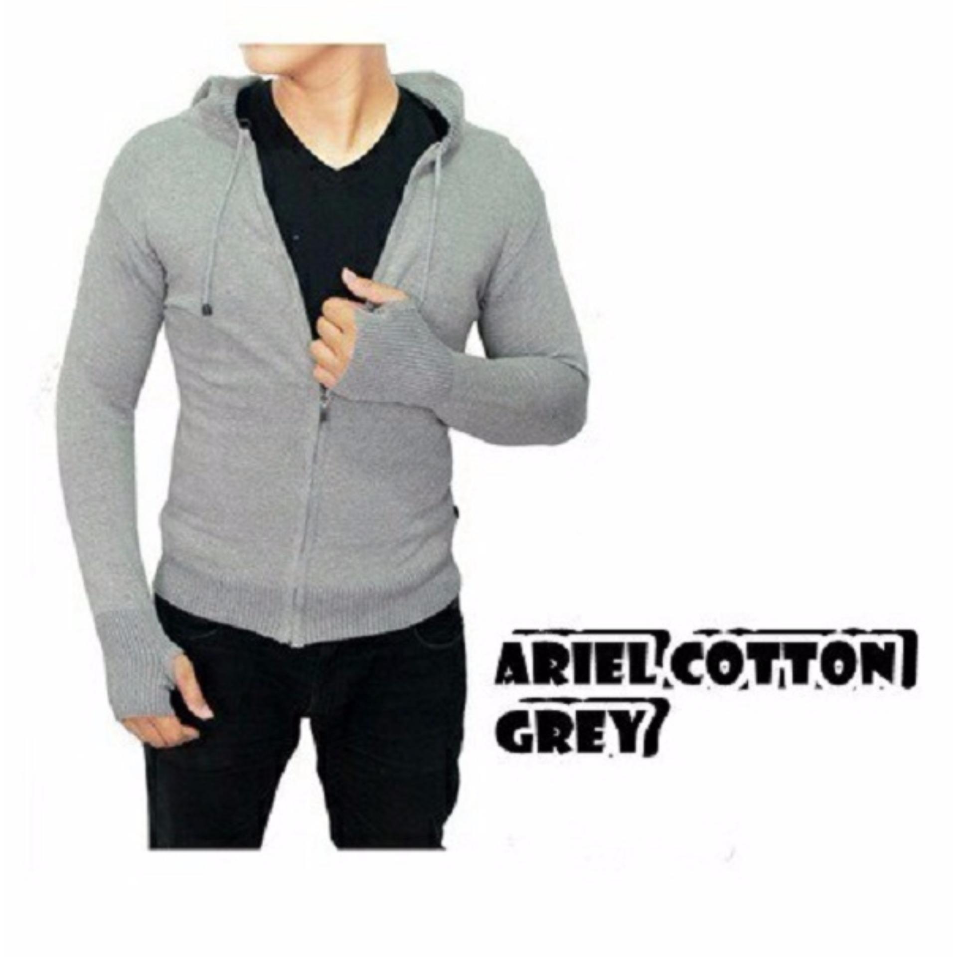 Produk Promo Jaket Wp Biru Polos All Club Bola Keren Bagus Pria Anti Zipper Hoodie Sweater Tudung Model Ariel Premium