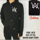 Cara Beli Jaket Hoodie Sweater Alan Walker Zipper Best Seller