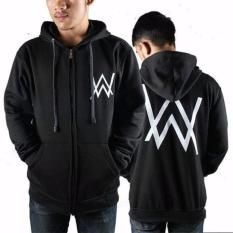 Jual Jaket Hoodie Zipper Alan Walker Best Seller Black Grosir
