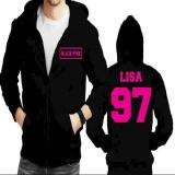 Jaket Hoodie Zipper Blackpink Lisa 97 Dki Jakarta