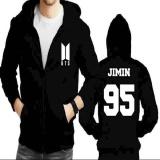 Dimana Beli Jaket Hoodie Zipper Bts Jimin 95 New Logo Not Specified