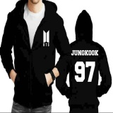 Harga Jaket Hoodie Zipper Bts Jungkook 97 New Logo Dki Jakarta