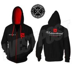 Diskon Jaket Hoodie Zipper Dota 2 International Championship Terbaru Keren Branded