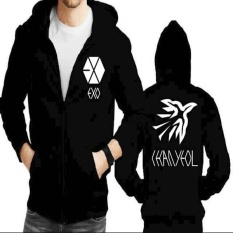 Harga Jaket Hoodie Zipper Exo Chanyeol Asli Not Specified