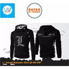 Review Toko Jaket Hoodie Zipper Harajuku Death Note L Lawliet Ja Dn 09 Best Seller Black Online