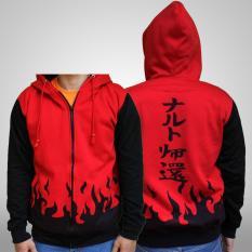 Jual Jaket Hoodie Zipper Naruto Sage Mode Best Seller Red Online Di Jawa Barat