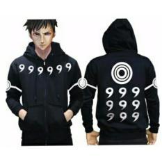 Spesifikasi Jaket Hoodie Zipper Naruto Rikudo Sennin Best Seller Black Online