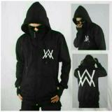 Jual Jaket Hoodie Zipper Ninja Alan Walker Black Baru
