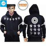 Beli Jaket Hoodie Zipper Rikudo Sennin Mode Anime Naruto Obito Best Seller Black Terbaru