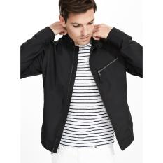 Jaket Jas - Baseball Jacket Black Style Trendy Idaman Cowok Keren - Hitam