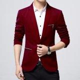 Jaket Jas Blazer Pria Casual Merah Jaket Jas Diskon 40