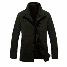 Spesifikasi Jaket Jas Bomber Jacket Parka Style Hijau Army Dan Harga