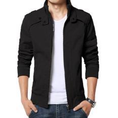Beli Jaket Jas Korean Style Jacket Hitam Secara Angsuran