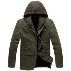 Jaket Jas Military Men S Hoodie Style Jacket Hijau Army Jaket Jas Diskon