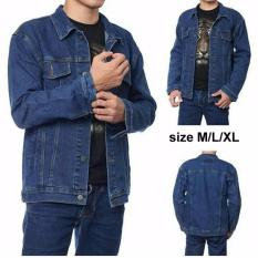 Spesifikasi Jaket Jeans Biru Casual Lengkap