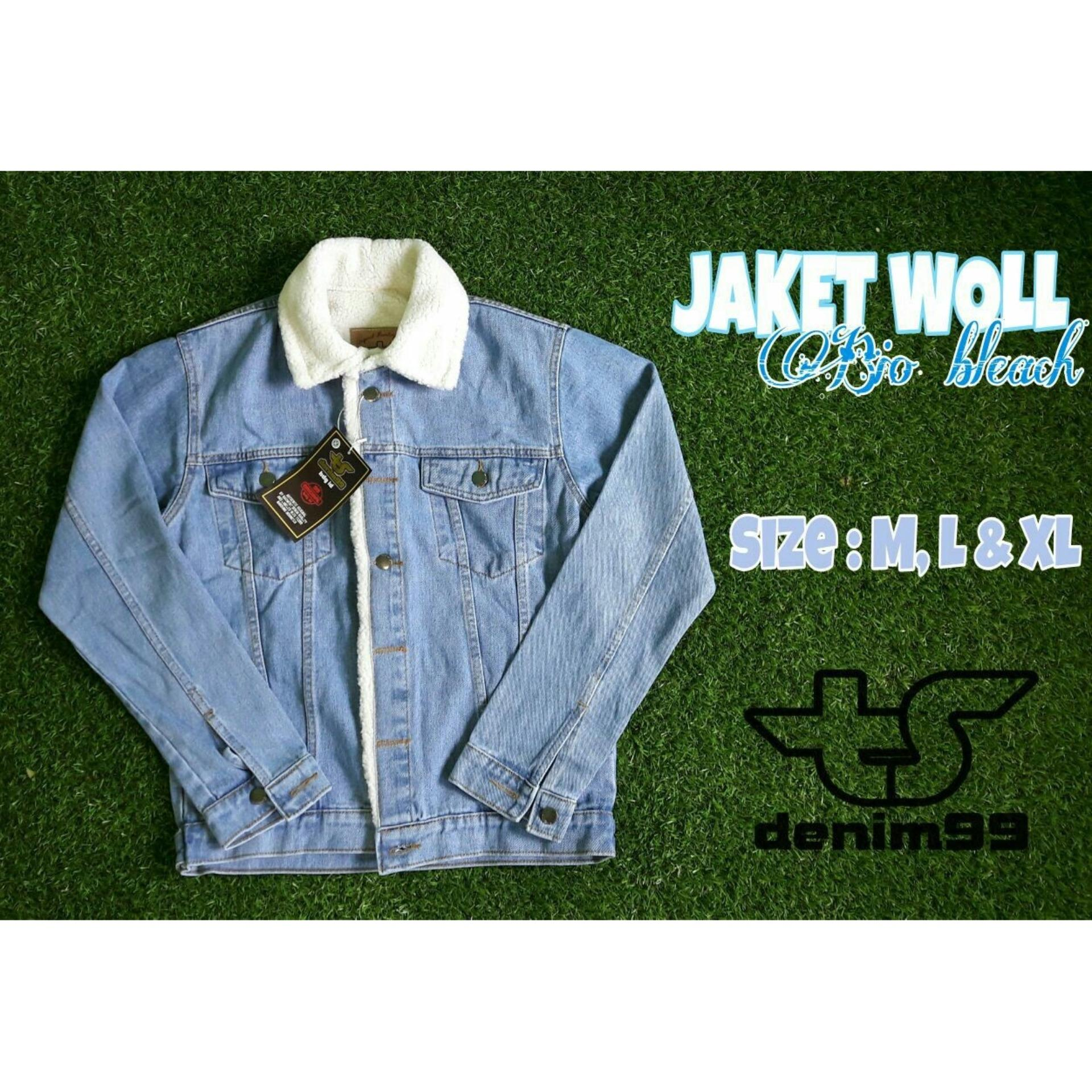 HARGA PROMO Jaket jeans bulu bioblitz pria – Jualan Online Teraman ... 5120cda3a6