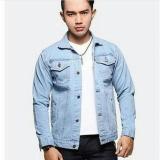 Jual Jaket Jeans Denim Bioblitz Biru Muda Online Di Jawa Barat