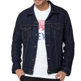 Beli Y Nkers Merch Jaket Jeans Denim Men S Navy Blue Di Jawa Barat