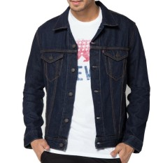 Beli Y Nkers Merch Jaket Jeans Denim Men S Navy Blue Nyicil