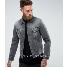 Promo Jaket Jeans Denim Pria Premium Jawa Barat