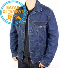 Review Jaket Jeans Murah Biru Classic Best Seller Indonesia